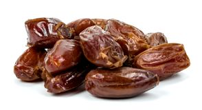 Dates on a white background Stock Image