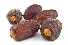 Dates on white background Royalty Free Stock Image