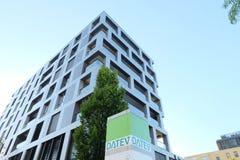 Datev sedia a construção em Munich fotos de stock royalty free