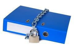 Dati confidenziali Immagine Stock
