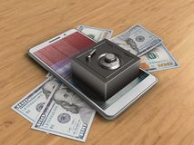 dati della sfortuna 3d Fotografia Stock Libera da Diritti