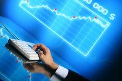 Dati di finanze Immagini Stock Libere da Diritti