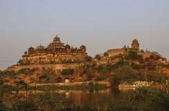 Datia fort i det Datia området av Madhya Pradesh, Indien Arkivfoton