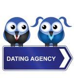 Datierungsagentur stock abbildung