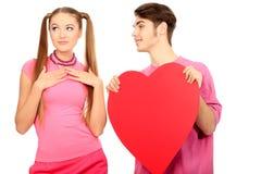 Datierungsliebe Lizenzfreies Stockbild