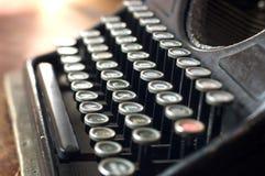 Datilografe a máquina Imagens de Stock