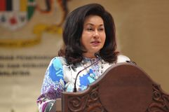 Datin Paduka Seri Hajjah Rosmah Mansor Royalty Free Stock Images
