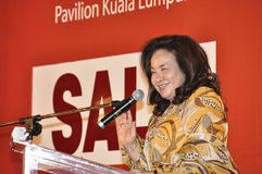 Datin Paduka Seri Rosmah Mansor Foto de Stock