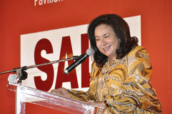 Datin Paduka Seri Rosmah Mansor Stock Afbeeldingen