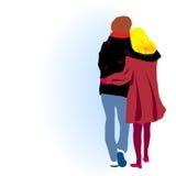 dating royalty-vrije illustratie