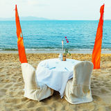 Dating on the beach Royalty Free Stock Photo