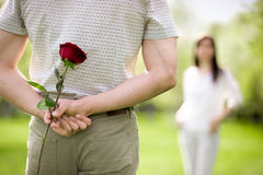 Dating concept royalty free stock photos