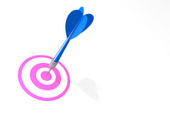 Dating Concept Dart Royalty Free Stock Image
