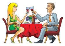 Dating couple Stock Photo
