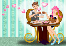 Dating couple Royalty Free Stock Photography