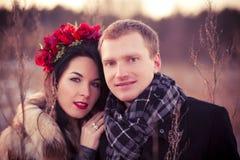 Dating couple Stock Photos