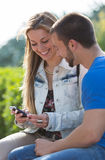Dating couples Royalty Free Stock Image