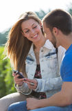 Dating couples Royalty Free Stock Photography