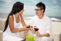 Dating people Royalty Free Stock Photo