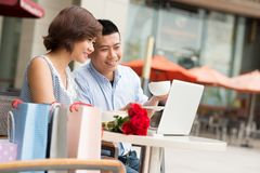 Dating and technology concept Stock Photo