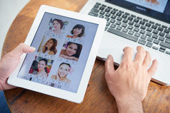 Dating website Royalty Free Stock Photo