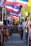 datki rzucać kulą buddyjskiego karmowego michaelita ofiary stawiający s Zdjęcia Royalty Free