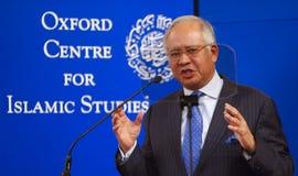 Dato Sri Najib Bottich Razak Lizenzfreie Stockbilder