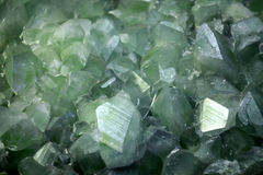 Datolite crystalsl background Royalty Free Stock Photos