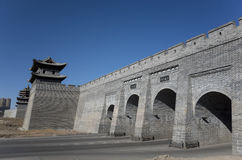 Datong city wall Stock Photography