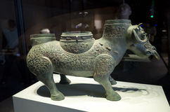Datong Museum Royalty Free Stock Photography
