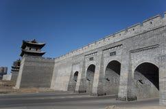 Datong-Stadtmauer stockfotografie