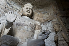 Datong Yungang Grottoes. Yungang Grottoes, located in Datong City of Shanxi province, China, represents outstanding Chinese Buddhist Grottoes Art during the 5th Stock Images