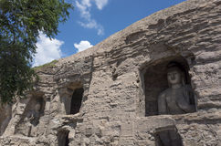 Datong Yungang Grottoes Royalty Free Stock Photo