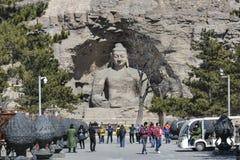 Datong Yungang Grottoes Royalty Free Stock Photo