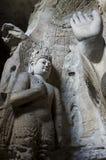 Datong Yungang grottor Royaltyfri Foto