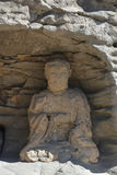 Datong Yungang grottor Royaltyfria Foton