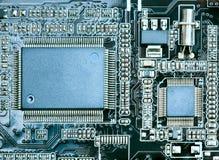 dator för brädeströmkretscloseup royaltyfri fotografi