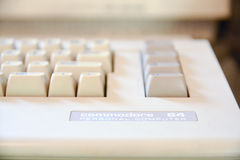Dator för kommendör 64 Arkivfoto