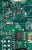 dator för brädechipströmkrets Royaltyfri Fotografi