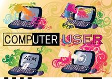 Datoranvändare Arkivbild