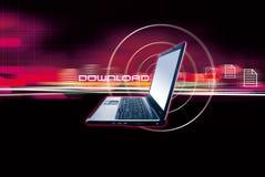 datorbärbar dator Royaltyfri Foto