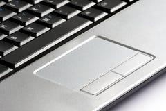 datorbärbar datortouchpad Arkivfoto