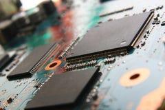 datorelektronik Arkivfoto
