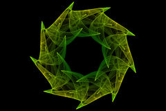 datoren för 01 abstraktion frambragte Royaltyfri Fotografi