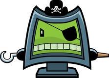 datoren piratkopierar royaltyfri illustrationer