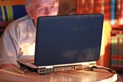 datorhörn arkivfoton