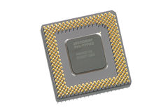 datorprocessor Arkivbild