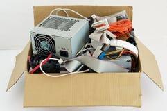 Datorreservdelar som är förberedda för utilisation Royaltyfria Foton