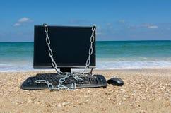 Datorsäkerhet, säker hamn Royaltyfri Foto