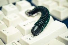 Datorsäkerhetsöverträdelse Arkivbild